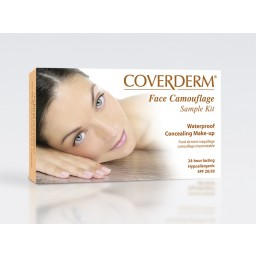 Coverderm Face Camouflage Sample Kit