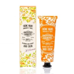 Institut Karite Almond and Honey Shea Hand Cream