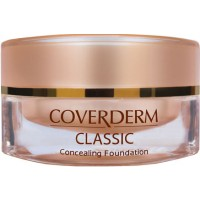 The only facial make-up ideal for serious skin imperfections and discolorations, angiomas, burns and scars