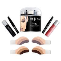 The Eyemajic Complete Makeover Kit contains a range of Eyemajic products that will give you a complete eye and lip makeover, all contained in a sleek package that fits into the palm of your hand.