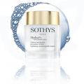 An exclusive, patented active ingredient from Sothys Advanced Research. Hyaluronic acid booster. Action on the barrier function. Action on moisture flow. Pro-youthfulness action.
