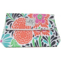 A gorgeous cosmetics bag with floral design, perfect gift for Mothers Day.